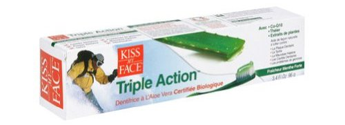 kiss my face triple action organic toothpaste