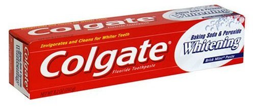 Colgate Baking Soda and Peroxide Whitening Brisk Mint Toothpaste