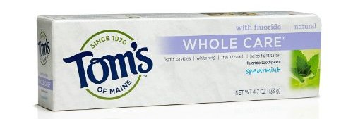 Tom's of Maine Whole Care Natural Toothpaste