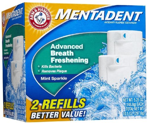 Mentadent Fluoride Toothpaste Advanced Breath Freshening